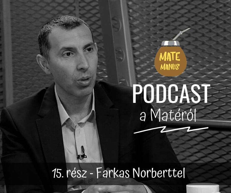 Farkas Norberttel a Spanyol Foci magyar hangjával Matéztam - Mate Manus Podcast 15. rész